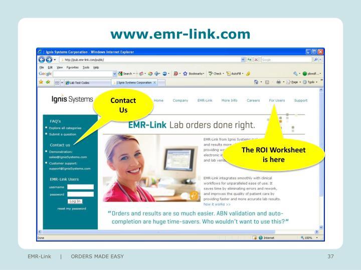 www.emr-link.com