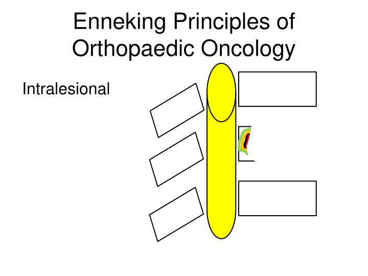 Enneking Principles of Orthopaedic Oncology