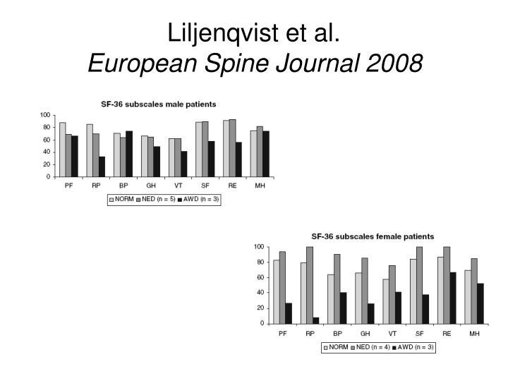 Liljenqvist et al.