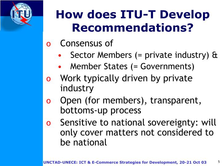 How does ITU-T Develop Recommendations?