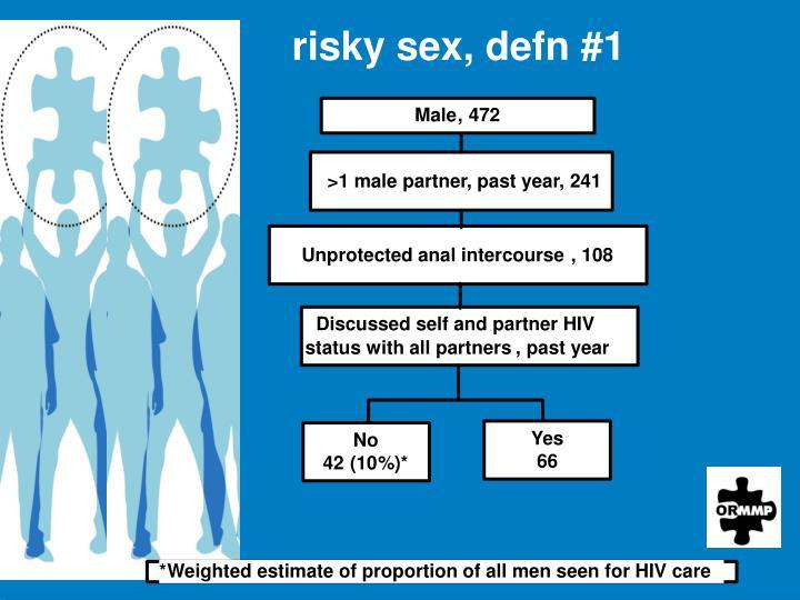 risky sex, defn #1