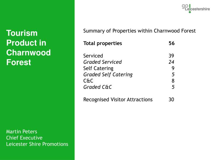 Summary of Properties within Charnwood Forest