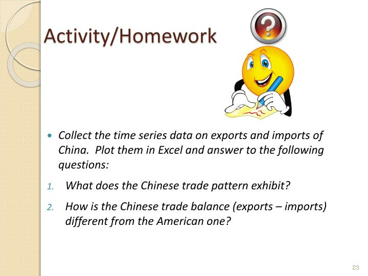 Activity/Homework