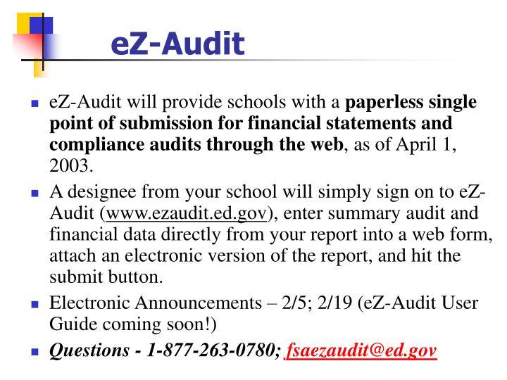 eZ-Audit