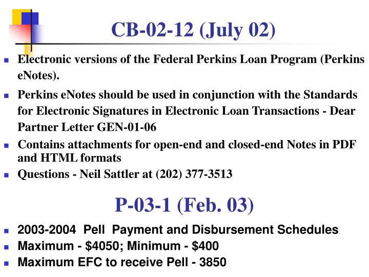CB-02-12 (July 02)