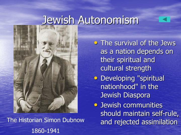 Jewish Autonomism