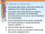 3 tema de la literatura