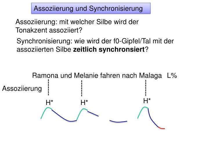Assoziierung und Synchronisierung