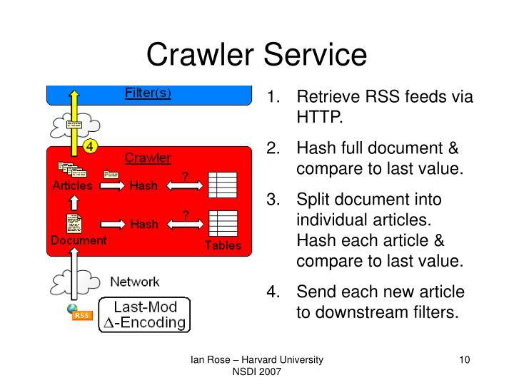 Crawler Service