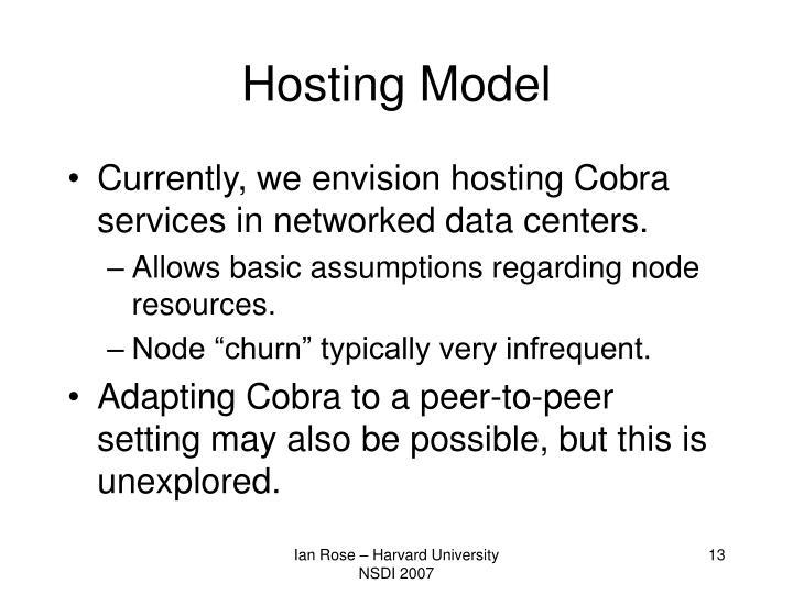 Hosting Model