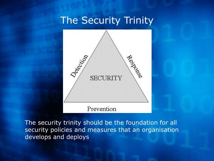 The Security Trinity
