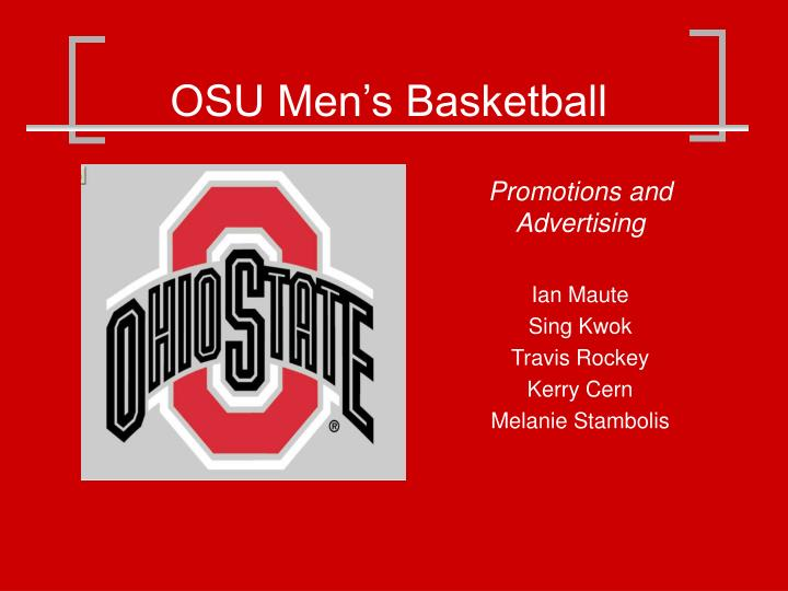Osu men s basketball