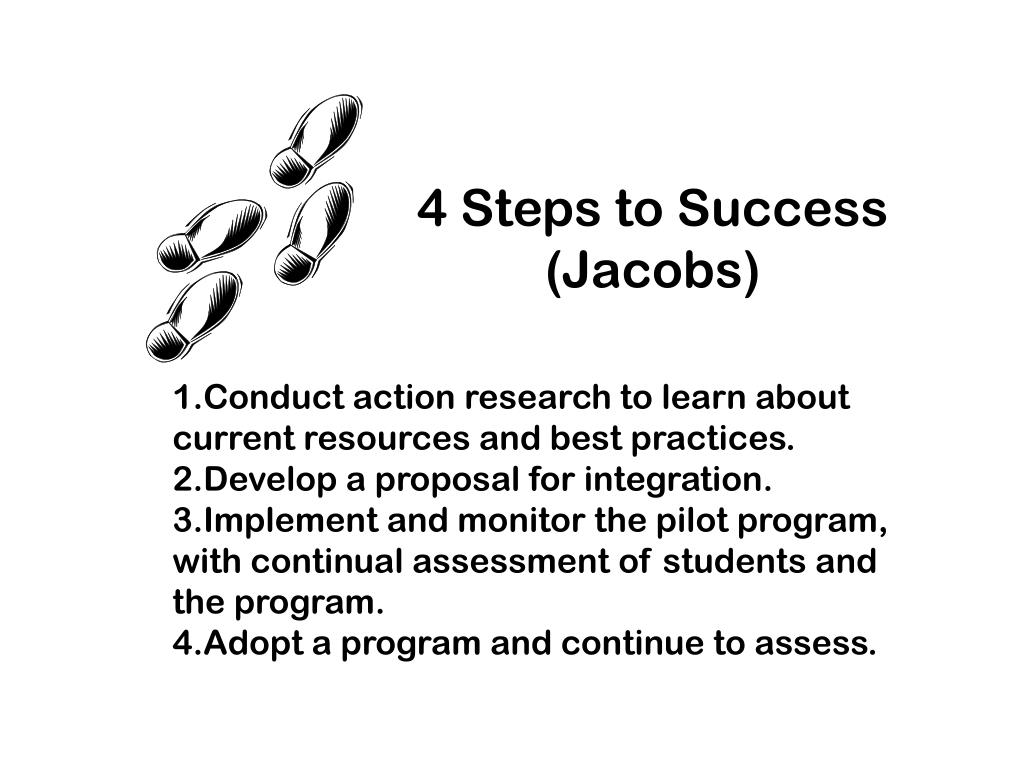 4 Steps to Success (Jacobs)