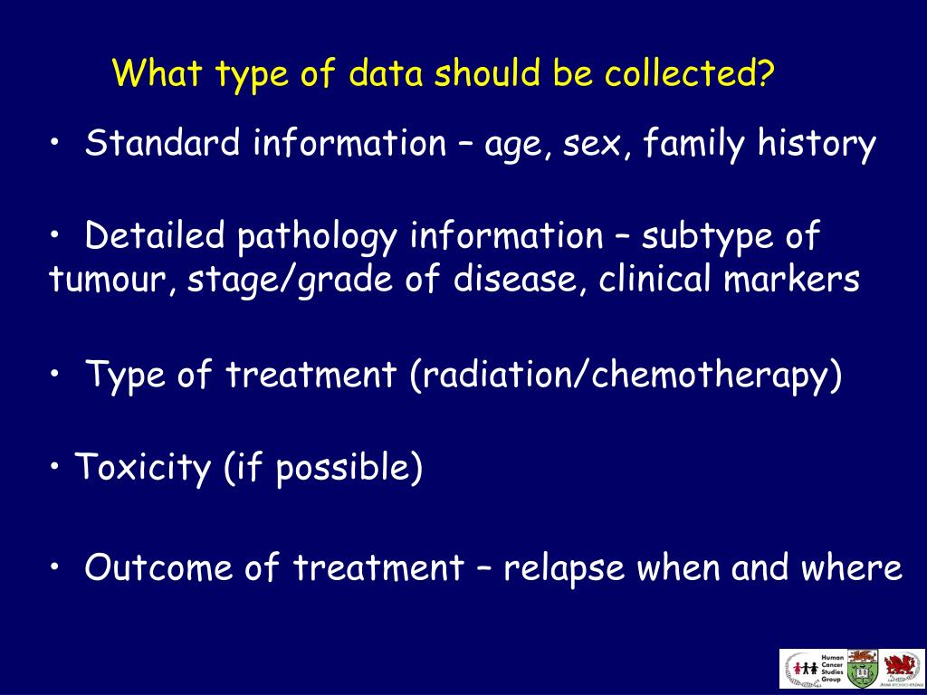 What type of data should be collected?