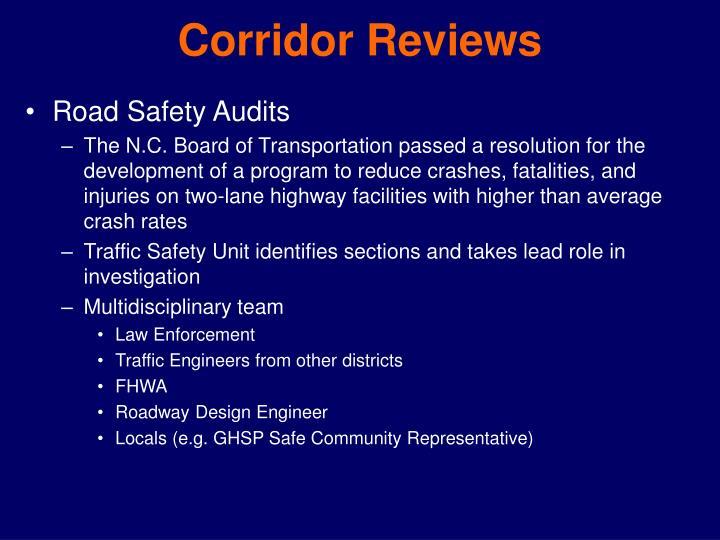 Corridor Reviews