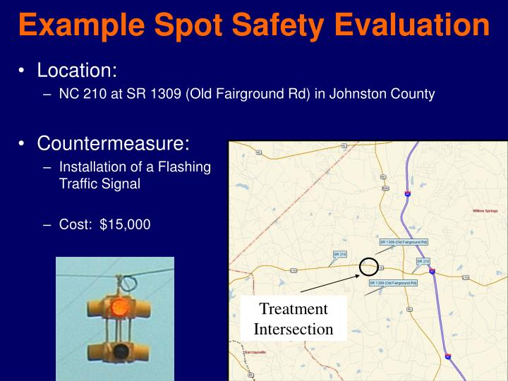 Example Spot Safety Evaluation