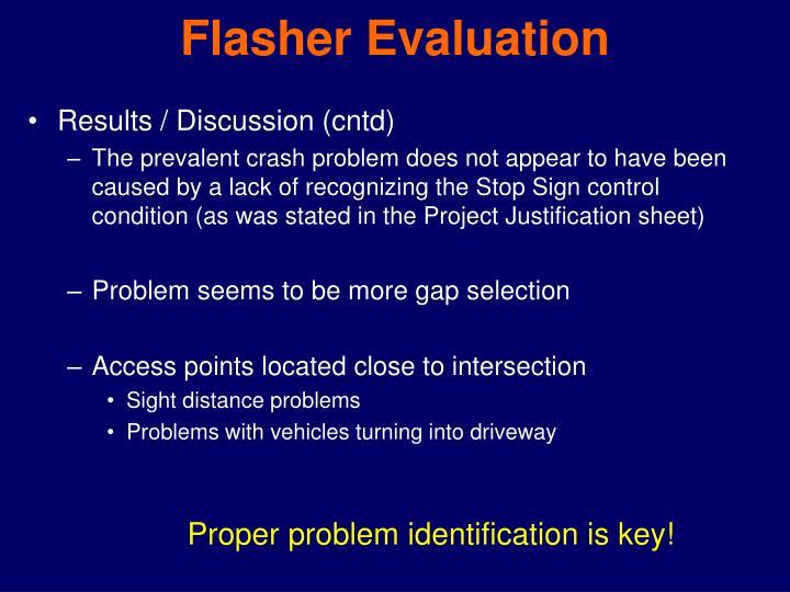 Flasher Evaluation