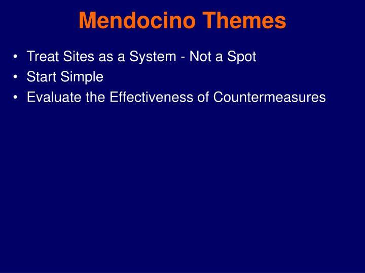 Mendocino Themes