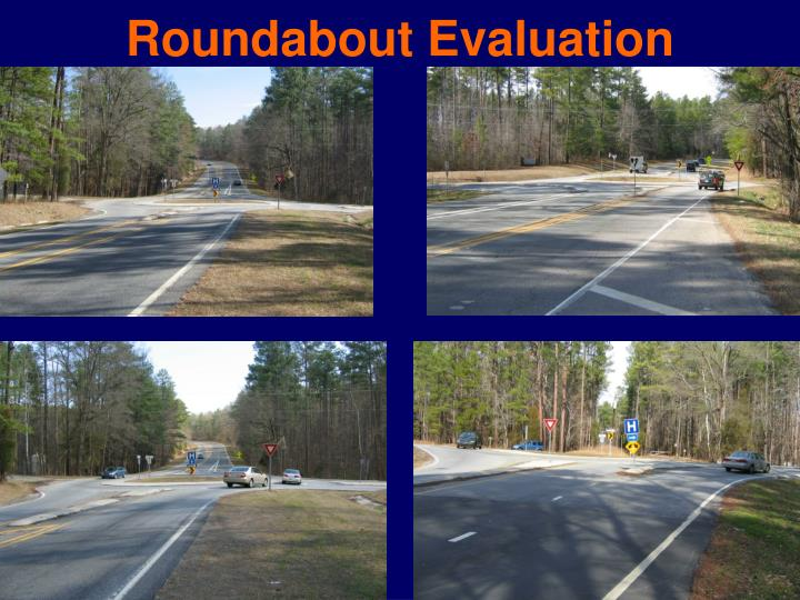 Roundabout Evaluation