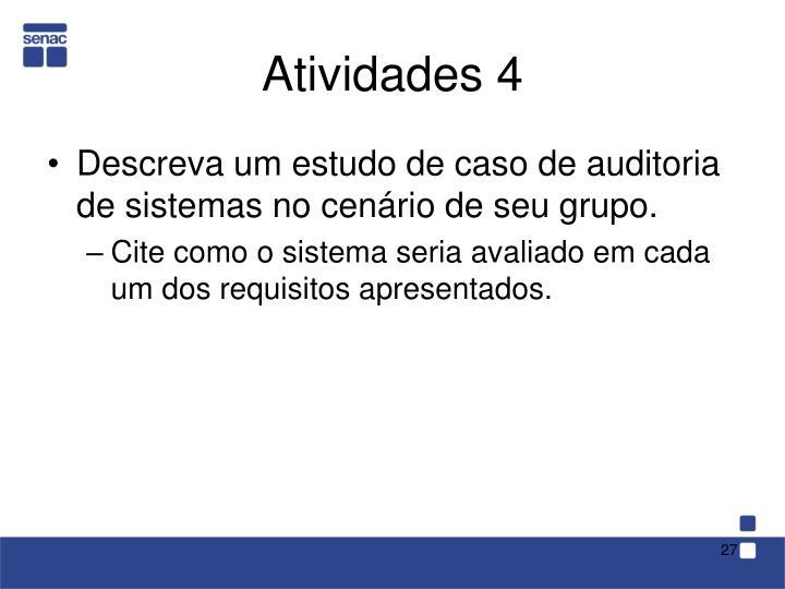 Atividades 4