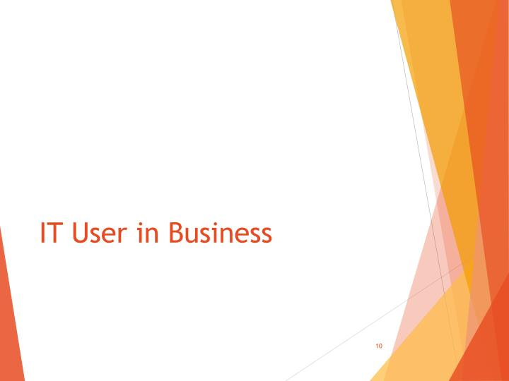 IT User in Business