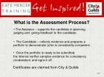 what is the assessment process