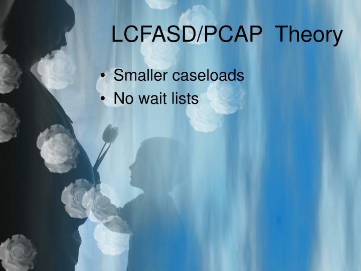 LCFASD/PCAP  Theory