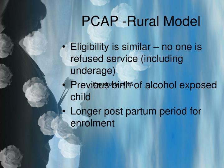 PCAP -Rural Model