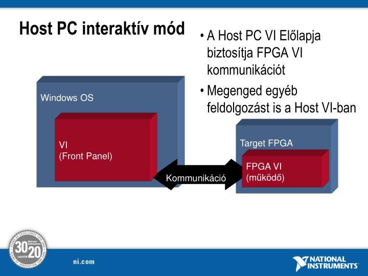 Host PC