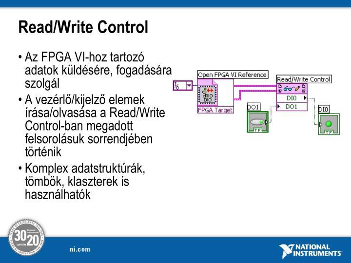 Read/Write Control
