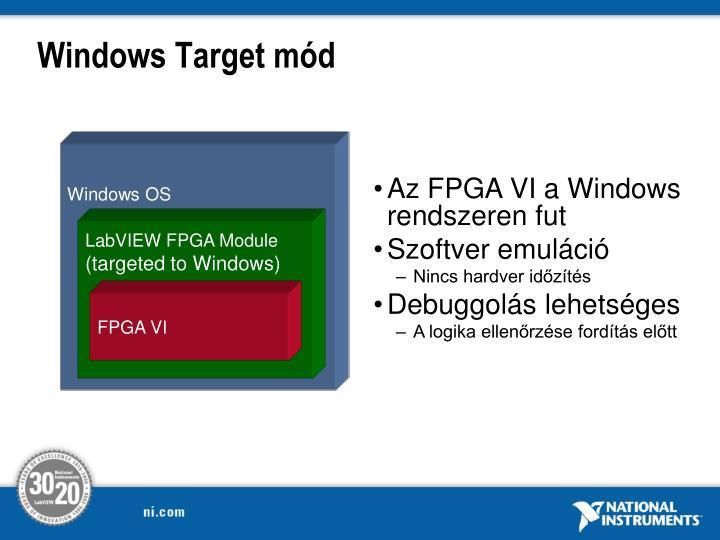 Windows Target
