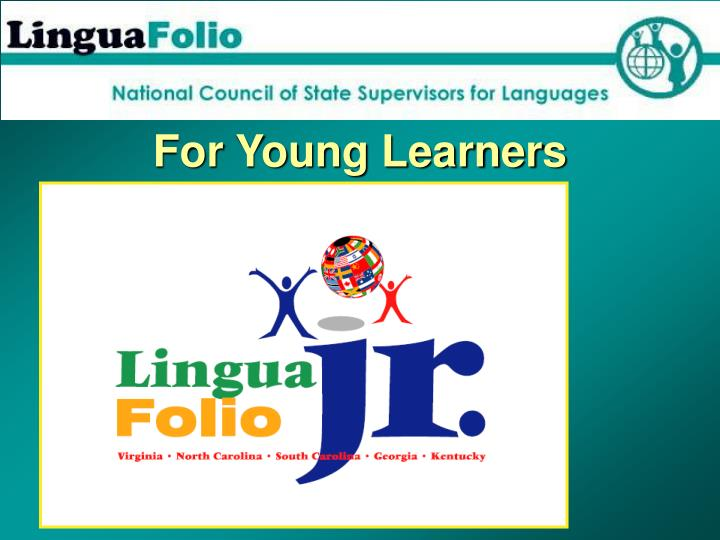 For Young Learners