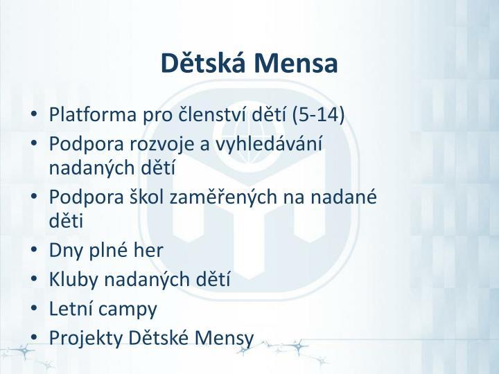 Dětská Mensa