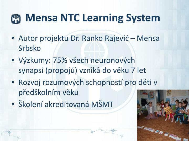 Mensa NTC Learning System