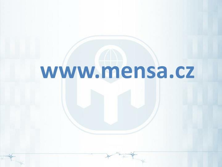 www.mensa.cz