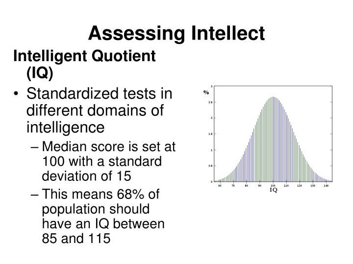 Assessing Intellect