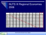 nuts iii regional economies 2006