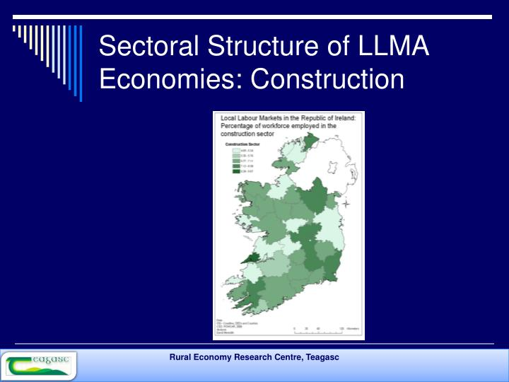 Sectoral Structure of LLMA Economies: Construction