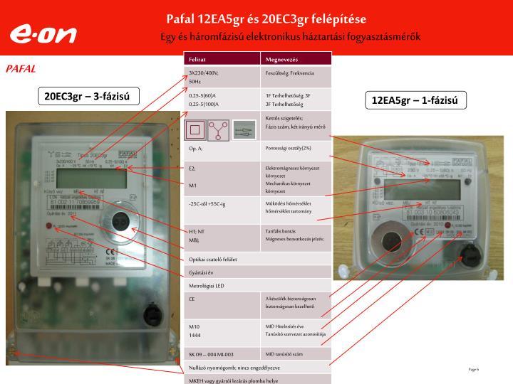 Egy és háromfázisú elektronikus háztartási fogyasztásmérők