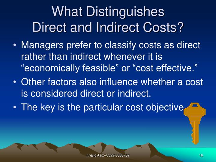 What Distinguishes