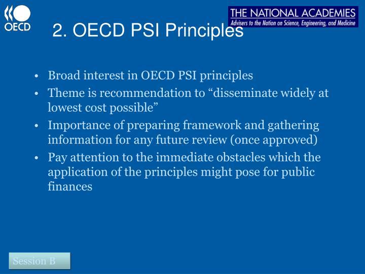 2. OECD PSI Principles