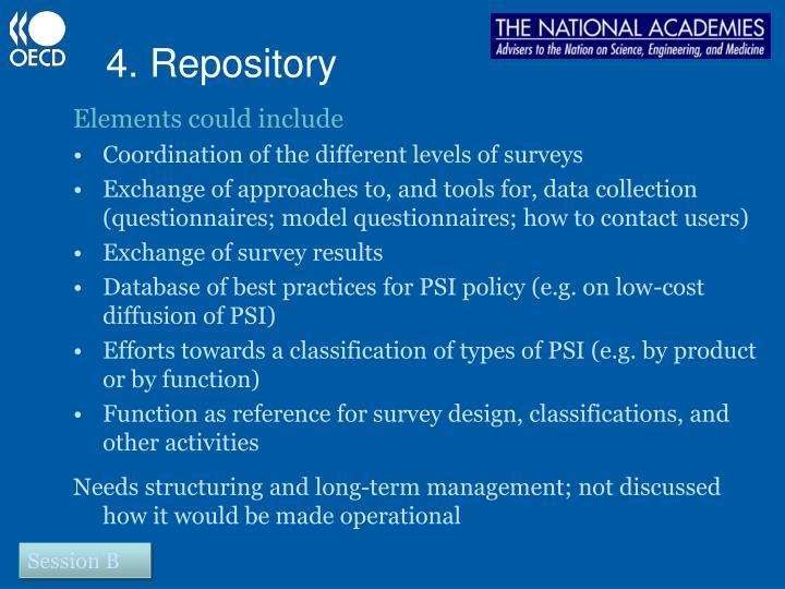 4. Repository