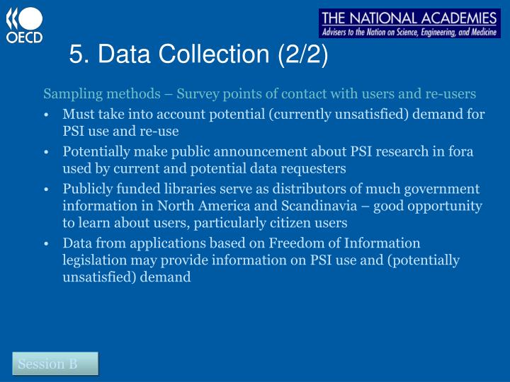 5. Data Collection (2/2)