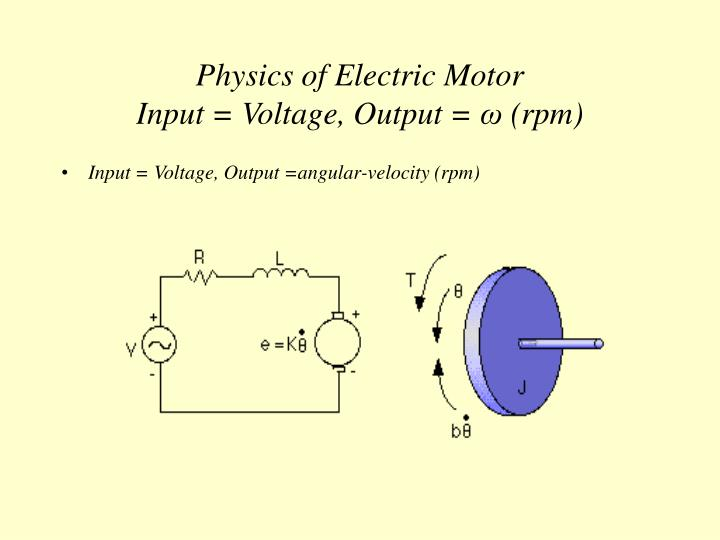 Physics of Electric Motor