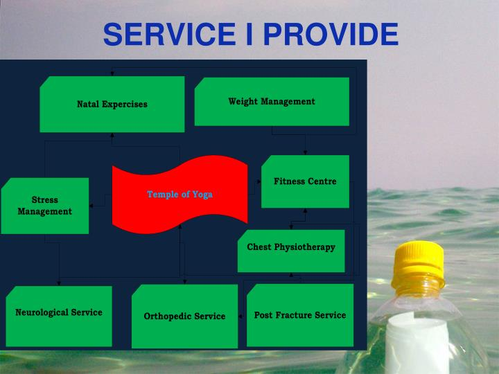 SERVICE I PROVIDE