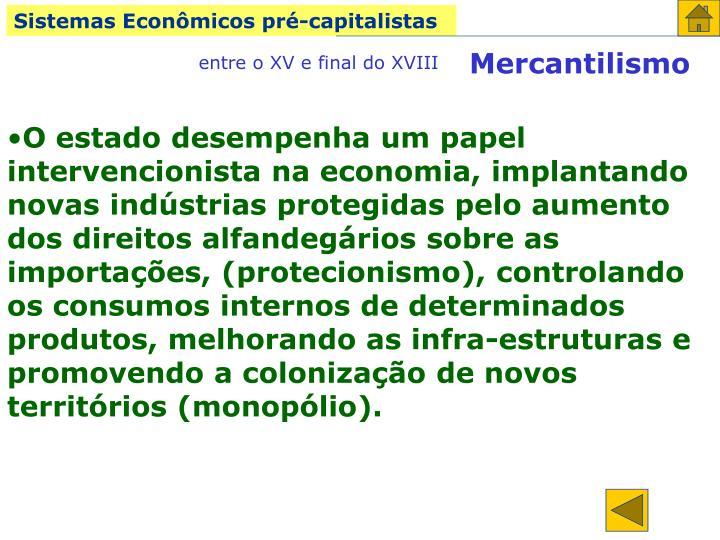 Sistemas Econômicos pré-capitalistas