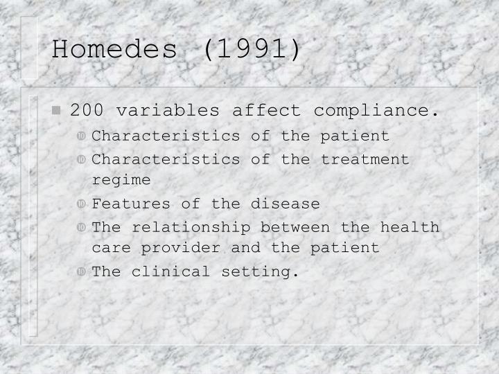 Homedes (1991)