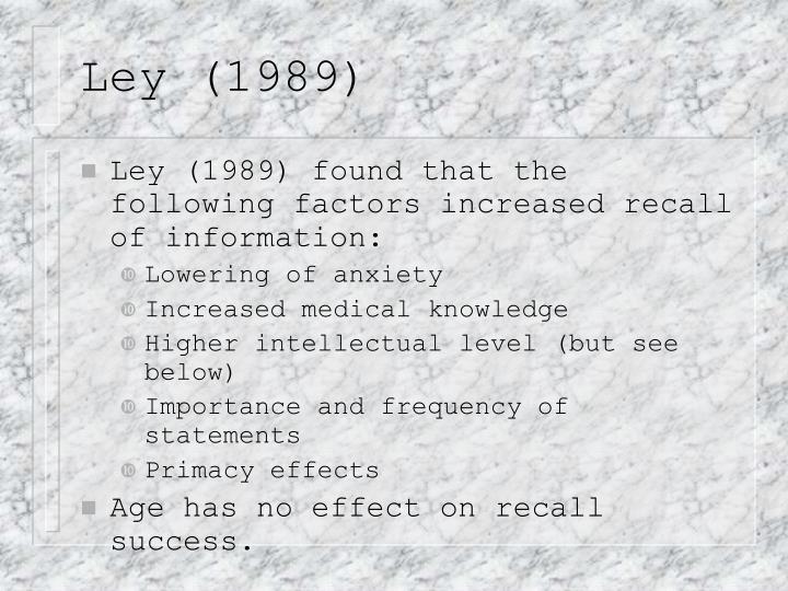 Ley (1989)