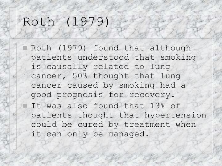 Roth (1979)