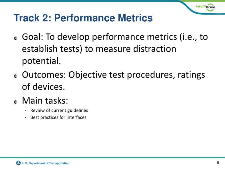 Track 2: Performance Metrics